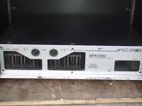 Ecler apa 1000 power amplifier