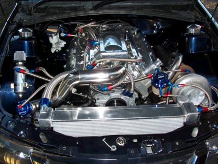 Holden 355 Stroker Turbo engine Commodore HSV Garrett Precision