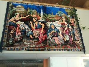 PERSIAN TAPESTRY HAND WOVEN WOOL FOR SALE