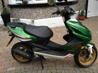 pre-reg 2016 mbk nitro 50CC mint scooter never used no milage was £2199 now £1650 -finance available