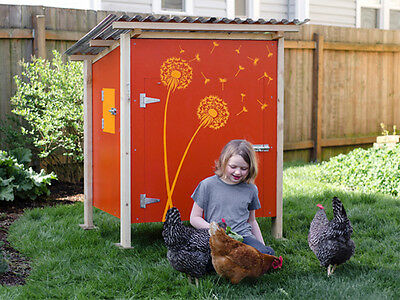 Backyard Chicken Coop Plans The Basic Coop Plan How-to Ebook On Usb Flash Drive