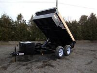 6' x 10' Heavy Durty Dump Trailer