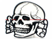 Death Head Belt Buckle