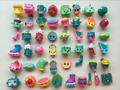 NEW Random Lot of 50Pcs Shopkins of Season 5 All different Loose Shopkins Toys