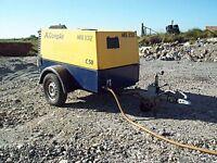 Wanted - 150 cfm (min) road compressor