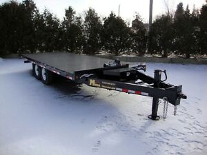 20' Hydraulic Tilt Deckover Float