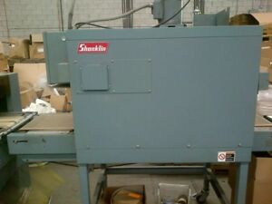 Used Shrink Wrap Machine - Shanklin Model T7F Shrink Tunnel [53]