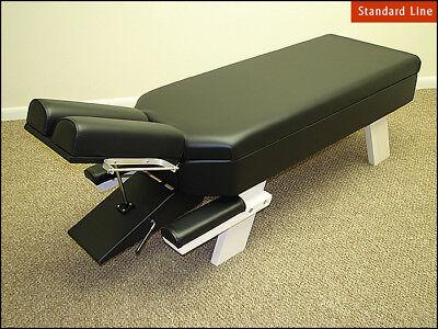 No Drop Chiropractic Adjusting Table With Tilting Headpiece Practice Special