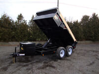 Contractor Dump Trailer with Tarp - $98/Month