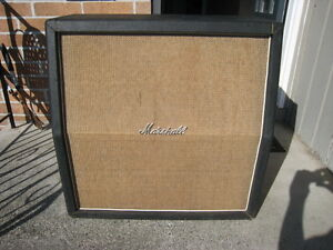 Older Marshall gear, amps cabs etc any condition