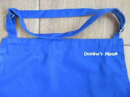 domino pizza uniform blue apron adult full bib worker crew costume tv show movie