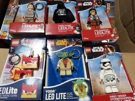 Lego gifts - key rings, game, fridge magnets, and other items from £2