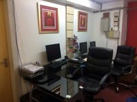 Short term flexible office £11 per day - Well Equipped!