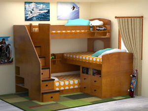FALL SALE UP TO 40% OFF_KIDS BUNK&LOFT BEDS_SHIPPING CANADA WIDE Kitchener / Waterloo Kitchener Area image 8