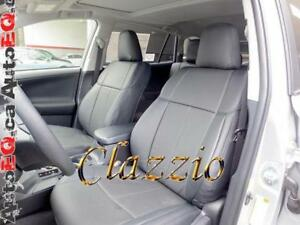 Clazzio Synthetic Leather Seat Covers (Front + Rear Rows) | 2013-2018 Toyota RAV4