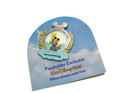 Disney Annual Passholder Mickey Mouse Where Dreams Come True Limited Edition Pin