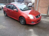 2010 Nissan Sentra SE-R GPS TOIT OUVRANT COMME NEUF