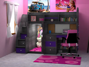 FALL SALE UP TO 40% OFF_KIDS BUNK&LOFT BEDS_SHIPPING CANADA WIDE Kitchener / Waterloo Kitchener Area image 1