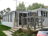 39' PROWLER w/sunroom & deck in beautiful PICTON, REDUCED PRICE