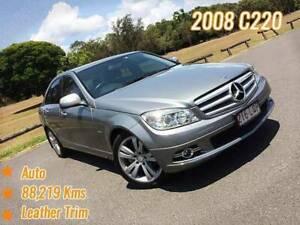2008 Mercedes-Benz C220 CDI W204 Avantgarde Sedan 4dr Auto 5sp Mansfield Brisbane South East Preview