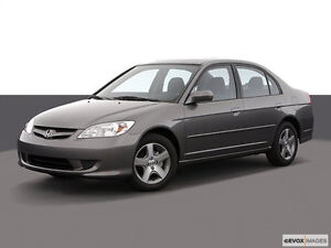 2004 Honda Civic- WINTER TIRES AND CAR STARTER INCLUDED