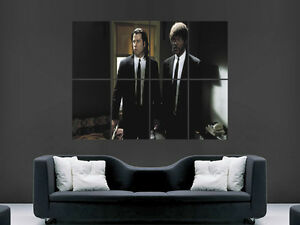 PULP-FICTION-CLASSIC-MOVIE-ART-WALL-LARGE-IMAGE-GIANT-POSTER