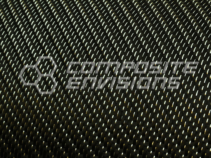 "Silver Reflections™ Carbon Fiber Fabric 2x2 Twill 50"" 3k 5.9oz"
