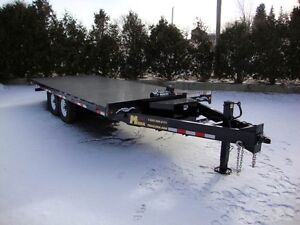 20' Hydraulic Tilt Deckover Float