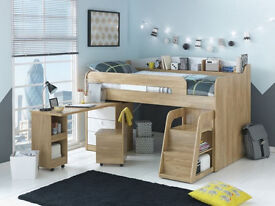 Ultimate Storage Midsleeper Bed.
