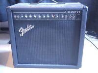 Fender Champ Valve Amp