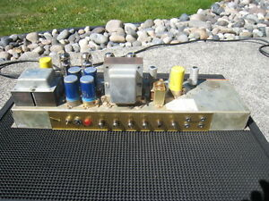 Project tube amps - not working Marshall vox fender Hiwatt etc