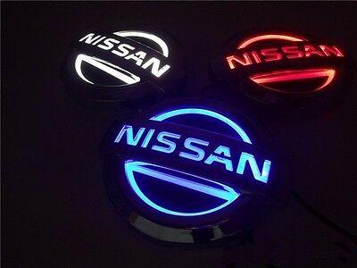 5D LED Car Logo Light Auto Badge Emblems For Nissan Livina For Nissan Cedric