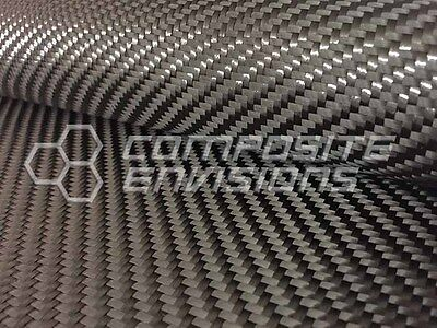 Carbon Fiber Cloth Fabric 2x2 Twill 24 12k 19.7oz