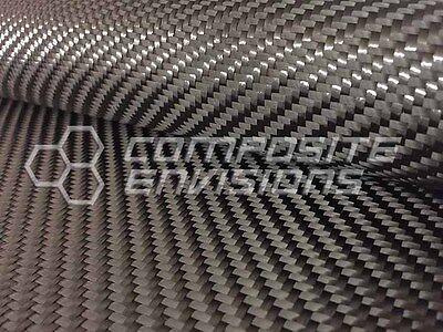 Carbon Fiber Cloth Fabric 2x2 Twill 24 12k 19.7oz