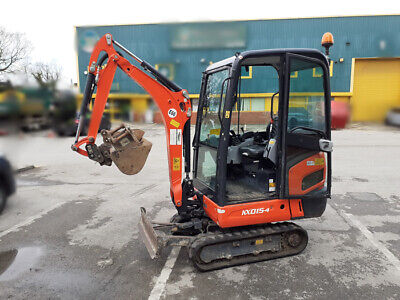 Kubota KX015-4 Mini Digger with Full Cab & 3 Buckets (Finance Available)