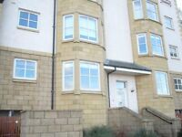 Two bedroom modern apartment in Dunbar to rent unfurnished. Private parking, seaviews