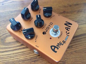 **Overdrive Pedals - Joyo American Sound, Sweet Baby, US Dream**