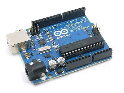 Arduino Uno R3 Microcontroller Mcu Mega328p Atmega16u2 - Usb Cable