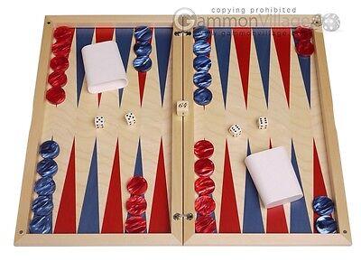 Dal Negro Backgammon Set (Dal Negro Wood Backgammon Set - Itaca - Classic Board Game )