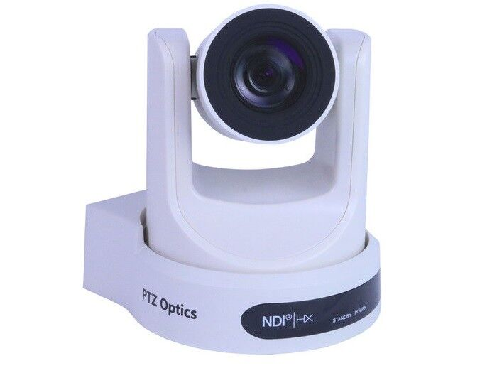 Ptzoptics Pt30x-ndi-wh 30x Optical Zoom Ndi/hx/3g-sdi/hdmi/ Cvbs/ip Streaming