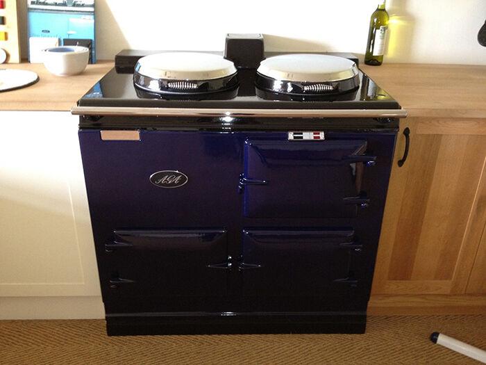 gas vs electric aga cookers ebay. Black Bedroom Furniture Sets. Home Design Ideas