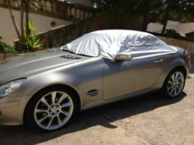 MERCEDES-BENZ SLK ROADSTER 04-11 PREMIUM LUXURY FULLY WATERPROOF CAR COVER COTTON LINED HEAVY DUTY INDOOR OUTDOOR HIGH QUALITY
