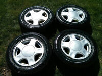All Season tires and Rim Package P205/65/15