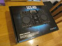 stanton scs4dj dj controller/digital standalone dj decks, as new boxed and complete - £250