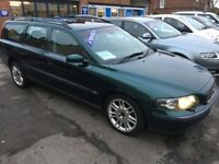Cheap Volvo V70 2.4 D5 SE 5dr Trade part ex to clear