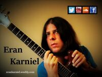Session guitarist available for recordings and gigs- Great warm sound