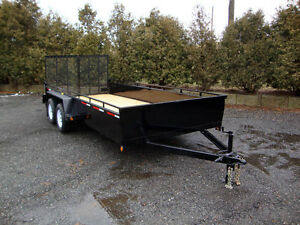 New Landscape Utility Trailers