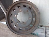 Ford Transit 6 Stud 15inch Steel Wheel Near Ratcliffe on Soar power station