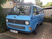 """Volkswagen Campervan T25 """"Bluebell"""""""