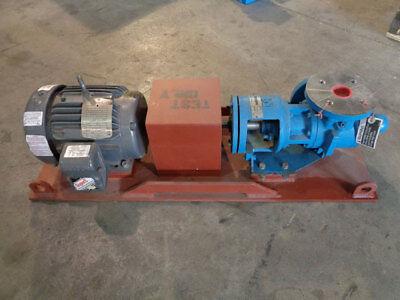 Tuthill Pump Gg015s W Baldor Super E Motor Ecp39821-4